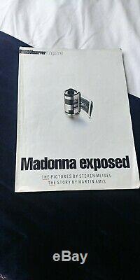 Madonna 1992 Uk Sex Book 1ère Édition. Cd, Comic, Couverture Mylar, Magazine, Nbr 0839531