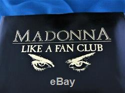 Madonna Like A Fanzine Icône Magazine # 1 Fan Club Portefeuille Complet Rare Promo