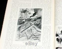 Magazine Antique Pearsons 1897. H. G. Wells'war Roman De 1er Livre Des Mondes