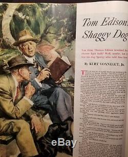 Magazine Collier 14 Mars, 1953 Survie De L'homme Dans L'espace Wernher Von Braun
