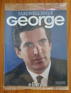 Magazine George Etanche Farewell Edition John F. Kennedy Jr Mai 2001 Vol 6 No 1 Jfk