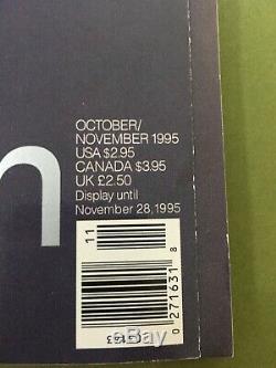 Magazine George Jfk Jr. Premier Numéro Inaugural Oct-novembre 1995 Très Bon + Cond