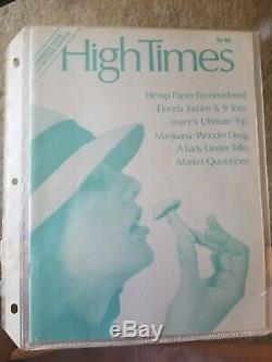 Magazine High Fois Vol 1974. 1 Numéro # 1