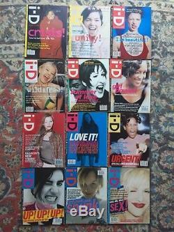 Magazine I-d 90 Questions! Années 1980, 1990 Et 2000 Vente D'emploi Lot