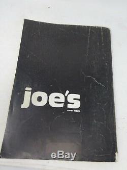 Magazine Joe Mckenna Premier Le Numéro Joes Juergen Teller Mode Bruce Weber Joe