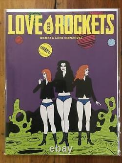 Magazine Love & Rockets Vol IV (2016) 1 2 3 4 5 6 7 8 9 10 Avec Exclusivité Fb 2-10