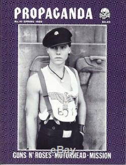 Magazine Propagande, Motorhead, Mission, Ziggy Stardust, Fer À La Jeunesse, Laibach
