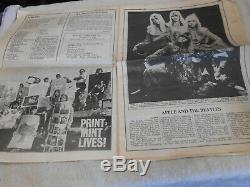 Magazine Rolling Stone Issue # 1 Vol # 1 No # 1 Super Rare 9 Novembre 1967 John Lennon