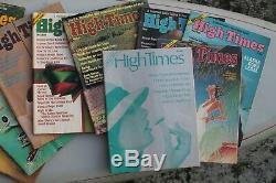 Magazine Temps Lot De High 16 Avec Premier Numéro 1 + Bob Marley Rare 1974-'76