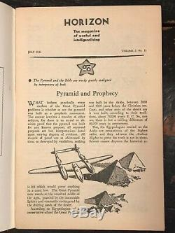 Manly P. Hall Horizon Journal De L'exercice 12 Questions, 1943 Occultes Philosophie