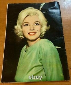 Marilyn Monroe Couverture Et Photo Comic 1962 Mexique Magazine Numéro Spécial No 1