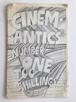 Martin Sharp 1970 Cinemantics Oz Magazine Rare