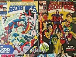 Merveilleux Super Héros. Guerres Secrètes No 1-31. (24 Déroulement De L'émission). Magazine Marvel Uk