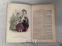 Mme Beeton Le Magazine National De Englishwoman, Nouvelle Série Volume One, 1860