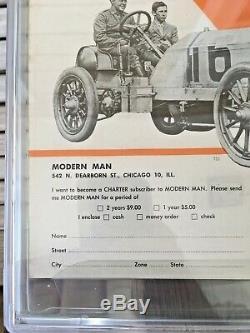 Modern Man Juillet 1951 Date Du Premier Édition (v1 N1) Cgc 9.0 Pages Blanches Et Seulement 1