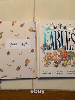 Natalie Portman Fable Fabilles Signées En Signe De Première Edition Première Impression Nouveau