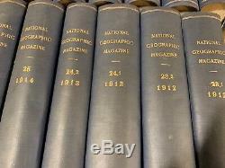 National Geographic, Set Bound 1912 À 1933. Fin. Voir Les Photos. Bateau Gratuit