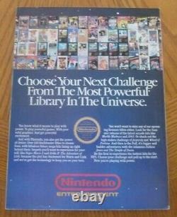 Nintendo Power 1988 Premiere Issue, Super Mario 2, Like New