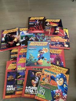 Nintendo Power Early Lot #1 #6, #11-#15, #17-#20 Magazines (15 Numéros)