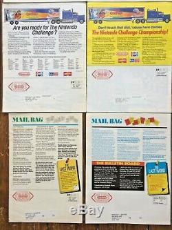 Nintendo Power Flash Magazines 1988-1990, Tous Les Numéros 1 À 9 + Lettre Rédacteur En Chef