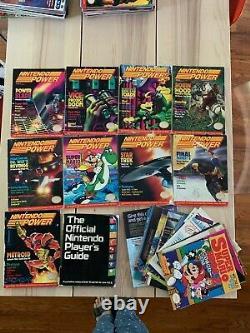 Nintendo Power Magazine 1-31 + Fun Club Nouvelles Guide De Lot Joueur Officiel, Plus