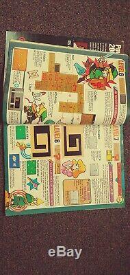 Nintendo Power Magazine 1 Numéro Complet Rare Avec Carte Zelda! Bonne Condition