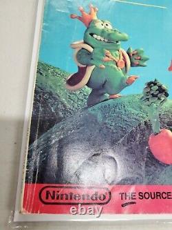 Nintendo Power Magazine #1 Premier Numéro Avec Poster Juillet/août 1988