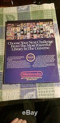 Nintendo Power Magazine # 1 Premier Numéro Juillet / Août 1988 Amazing Condition
