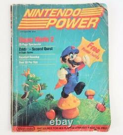 Nintendo Power Magazine # 1 Premier Numéro Juillet / Août 1988 Avec Super Mario 2
