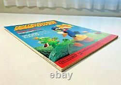 Nintendo Power Magazine 1988 Premier Numéro Avec Zelda Carte Poster Rare Sample