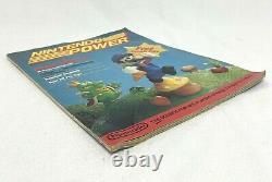 Nintendo Power Magazine 1988 Premier Numéro Avec Zelda Map Poster Rare Sample
