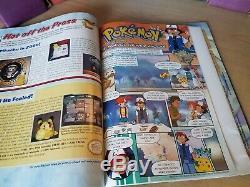 Nintendo Power Magazine Lot La Plupart Du Temps 90 (lot De 100+) Comprend Extras
