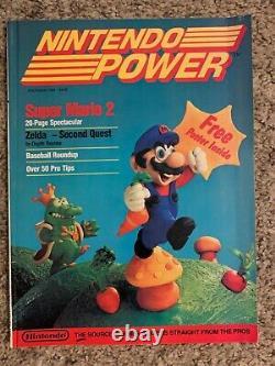 Nintendo Power Magazine Lot Numéros #1-87 Plus Des Guides De Stratégie Et Plus