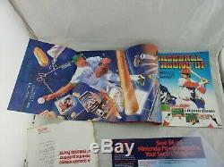 Nintendo Power Magazine Numéro 1 Mailer Complet, Lettre De Membre Du Club, Carte Affiche