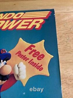 Nintendo Power Magazine Volume 1 Juillet/août 1988 Excellente Condition Voir Scans
