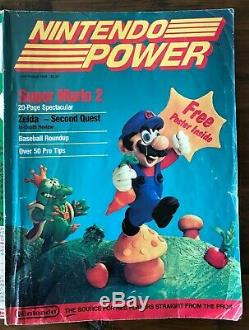 Nintendo Power Magazines 88-'99 (lot De 94 Numéros) Dont Rare Volume 1