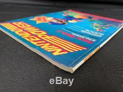Nintendo Power Vol. ? 1 Juillet / Août 1988 Très 1ère Edition Withzelda Carte Poster Nice