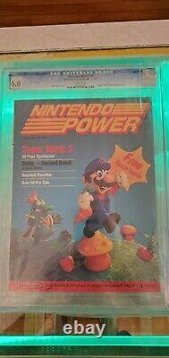 Nintendo Power Vol. 1 Juillet/août 1988 Premier Numéro Avec Zelda Map Poster Classé 6.0