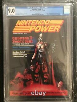 Nintendo Power Volume 2 Cgc 9.0 Septembre/octobre 1988 One-of-a-kind