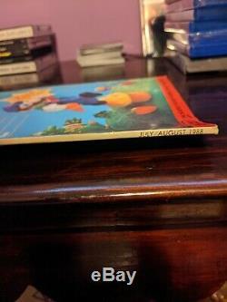 Nintendo Puissance Vol. 1 Numéro 1 (1988) Tous Les Expéditeurs De Courrier Et Affiche Ci-jointe. Belle