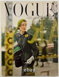 Norman Parkinson Wenda Beauty Decoration Fashion Vogue Magazine 1 Octobre 1949
