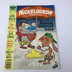 Numéro De Première Vintage Nick Nickelodeon Magazine Rare Ren Et Stimpy 1993