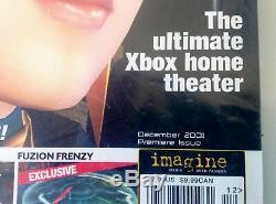 Official Xbox Magazine 2001 Première Numéro 1 Scellé