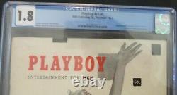 Original Playboy N ° 1 Décembre 1953 Cgc 1.8