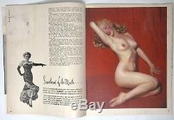 Original Vintage 1953 Premier Numéro # 1 Playboy Magazine Marilyn Monroe Cgc 3.5