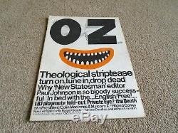 Oz Magazine # 1 Avec L'affiche Martin Sharp