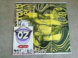 Oz Magazine # 2 Avec L'affiche Martin Sharp