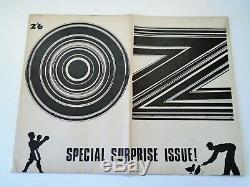 Oz Magazine # 5 Martin Sharp Plante Une Fleur Affiche Enfant