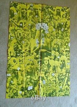 Oz Magazine # 5 Martin Sharp Plante Une Fleur Jaune Affiche Enfant