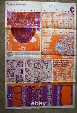 Oz Magazine N° 12 Compléter Toutes Les Sections. Affiche De Barney Bubbles